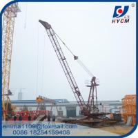 Wholesale 6tons Load QD2420 Derrick Luffing Cranes 24m Arm Length 150m Height from china suppliers