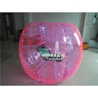 Wholesale PVC / TPU Colorful Inflatable Bumper Ball , Giant Knocker Soccer Balls from china suppliers
