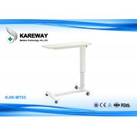 Wholesale Luxurious Adjustable Hospital Tray Table Medical Hospital Furniture KJW-MT03 from china suppliers