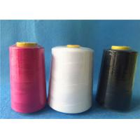 Wholesale Ring 100 polyester spun yarn for jeans / cloth,strong polyester thread  from china suppliers