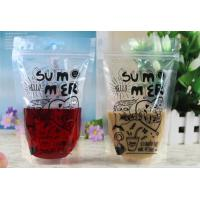 Wholesale Clear Transparent Resealable Plastic Bag For Liquid Packing Self - Reliance from china suppliers