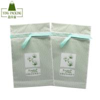 China New products design customized printed silk drawstring gift plastic bag with logo on sale