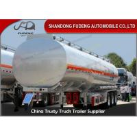Quality Customized 45000 L Fuel tanker Aluminum fuel tanker semi trailer with 3 axle for sale