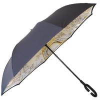 Wholesale Wholesale Windproof Double Layer Inverted C Hook Reverse Digital Printing Umbrella from china suppliers