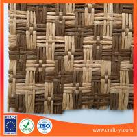 Buy cheap natural woven straw fabric wreath for hats by the yard in paper material from wholesalers