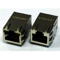 Wholesale XFATM9R-CTxu1-4M Single Port Rj45 Connector With Integrated Magnetics 10/100M from china suppliers