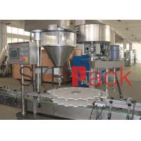 Quality Dry syrup powder filling machine / equipment for talcum and Food powder for sale