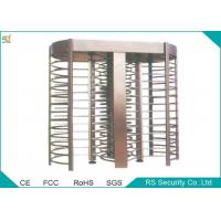 Wholesale Electric Automatic Turnstiles Access Control Full Height Turnstile Gate from china suppliers