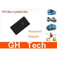 Wholesale Wireless Portable GPS Tracking Device 450 Days Waterproof Working Magnetic Tracker from china suppliers