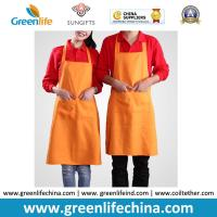 Wholesale Cooking cotton polyester kitchen girl household women aprons made in China can print logo from china suppliers