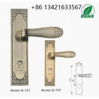 Quality Classical style waterproof hotel bathroom lock, Europe profile round knob lock for sale
