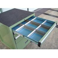 Wholesale Rolling Metal Tool Cabinet With Drawers For Storage , Workbench Tool Chest from china suppliers
