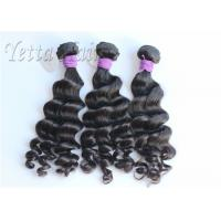 Wholesale No Chemical Full Head  Peruvian Human Hair Weave Bouncy Loose Wave from china suppliers