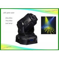 Wholesale Party Disco DJ Stage Light 60w Led Moving Head With 2 Gobo / 1 Color Wheel Wheel from china suppliers