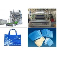 Wholesale 1.6 m / 2.4m Non Woven Fabric Production Line SSS PP Spunbonded from china suppliers