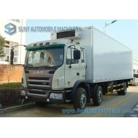 Wholesale JAC 20 Ton / 15 Ton Diesel Reefer Box Truck 6X2 For Vegetables / Vaccine from china suppliers