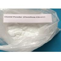 Wholesale 50-41-9 Pharmaceutical Anti Estrogen Powder Clomid Effective Clomiphene Citrate from china suppliers