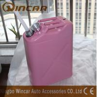 Quality 5L 10L 20L Fuel Petrol Metal Jerry Can With Flexible Spout for sale