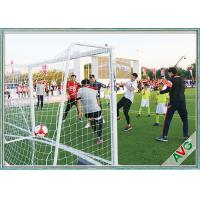 Wholesale Professional 7 / 5 / 3 / 11 Man Aluminium Soccer Goal Football Goal Long Lifetime from china suppliers
