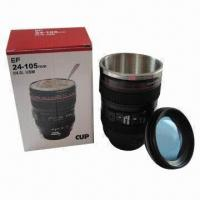 Wholesale Camera Lens-shaped Stainless Steel Mug from china suppliers