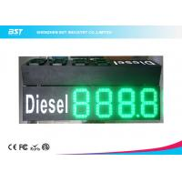"Wholesale Custom 10"" Green Gas Station Digital Price Signs To Display Daily Prices from china suppliers"