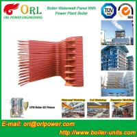 Wholesale Condensing Gas Boiler Water Wall Panels , Boiler Membrane Wall Tube from china suppliers