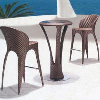 Wholesale outdoor rattan garden furniture outdoor furniture bar furniture (BF-007) from china suppliers