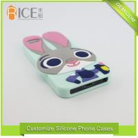 Wholesale Customized Cell Phone Accessories Cute Cartoon Animal Silicone Phone Case from china suppliers