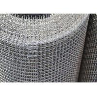 Wholesale Rectangle Stainless Steel Crimped Wire Mesh , Fine Mesh Hardware Cloth from china suppliers
