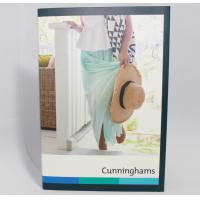 Quality Matt Lamination LCD Video Brochure Card Memory Flash And Cutomized Dimensions for sale