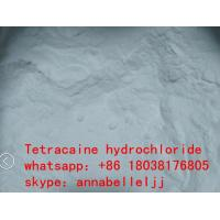 Local Anesthetic Drugs Tetracaine HCl CAS 136-47-0 for  pain killer