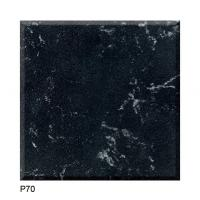 Quality Quartz stone Slab Artificial Stone Customized Black Marble Color tone Kitchentop for sale