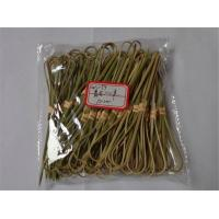 Buy cheap 12cm Bamboo Heart Knot Picks Toothpick Bamboo Cocktail Fork Fruit Tooth Picks from wholesalers