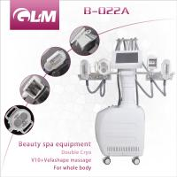 Wholesale Beauty salon slimming equipment 2 cryo + V10 + velashape massage for whole body slimming from china suppliers