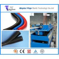 Wholesale Small Diameter Plastic Corrugated Pipe Extrusion Line / Making Machine from china suppliers