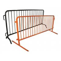 Wholesale Pedestrian Barrier Traffic Barricade for Event and Construction used crowd control barriers / removable road crowd contr from china suppliers