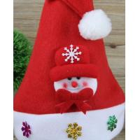 Wholesale Snowman Christmas Hat or Deer Christmas Cap for Hoilidays Gift from china suppliers