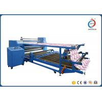 Quality Double Layer Drum Rotary Heat Transfer Press Sublimation Machine For Fabric for sale