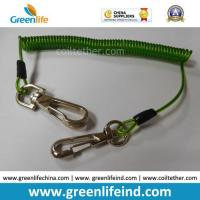 Wholesale 16cm Length Top Quality Green Tool Coiled Lanyard Holder from china suppliers
