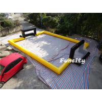 Wholesale Airtight Human Table Soccer Inflatable Games Inflatable Football Pitches Pop from china suppliers