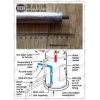 Wholesale Cast magnesium water heater anode rods / sacrificial anode protection AZ63C from china suppliers