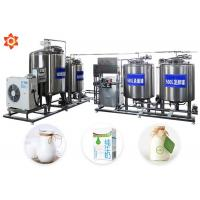 Wholesale Customized Milk Processing Machine Milk Production Line 12 Month Warranty from china suppliers