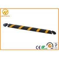 Wholesale 60ft 1830mm Road Safety Reflective Rubber Speed Bump With Panama Standard from china suppliers