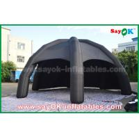 Wholesale Black PVC Inflatable Air Tent / Advertising Dome Spider Tent With Blower from china suppliers