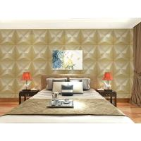 Wholesale Embossed Wall Surface 3D Textured Wall Panels Removable Wall Sticker for Living Room from china suppliers