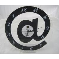 Wholesale Acrylic Decorative Reverse Wall Clock Silent Movement For Personalized Gift from china suppliers