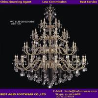 Wholesale 2015 New classical style candle crystal chandelier, sourcing agent for lighting in Guzhen from china suppliers