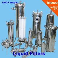 Wholesale BOCIN Liquid Water / Oil Filtration Industrial Cartridge Filters , Flange Filter from china suppliers