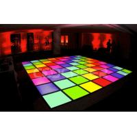 Wholesale Interactive Colorful  Slim Led Dance Floor Lamps for show /  Event  /  KTV from china suppliers