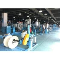 Wholesale PU Plastic Extrusion Line / electric wire making machine With Tension Pay Off from china suppliers